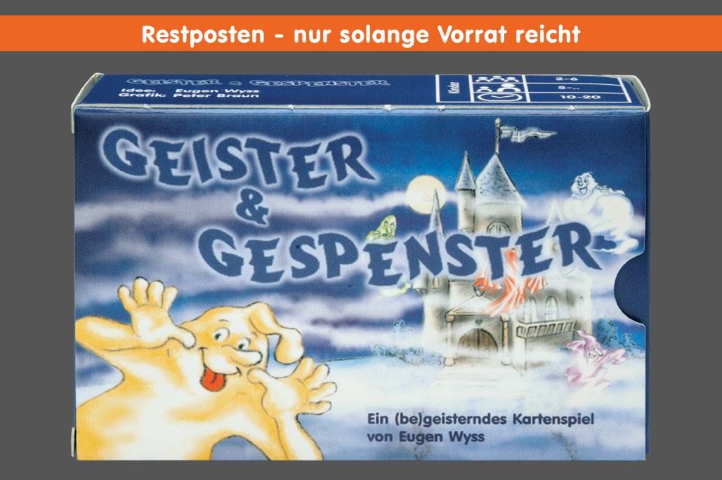 Geister & Gespenster - Cover