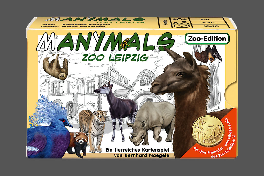 Manimals – Leipziger Zoo (Zoo-Edition) - Cover