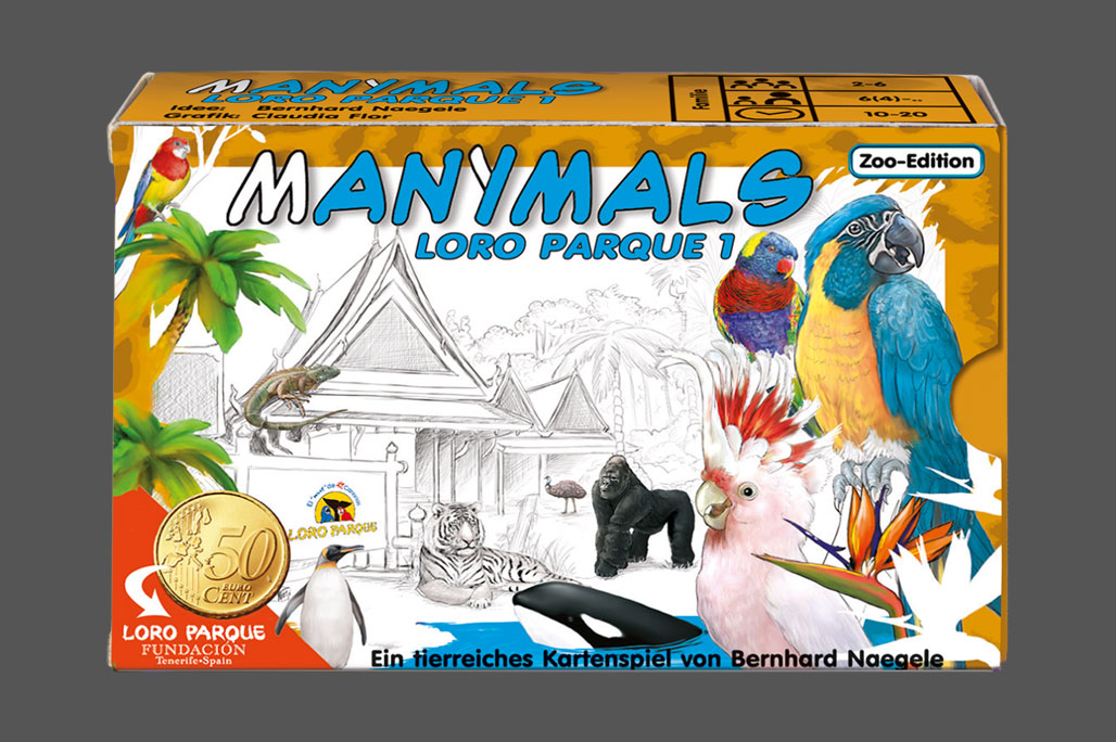 Manimals – Loro Parque (Zoo-Edition) - Cover